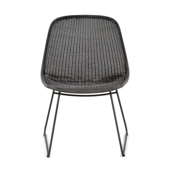 joe-outdoor-wicker-relaxing-chair-coal-front-view