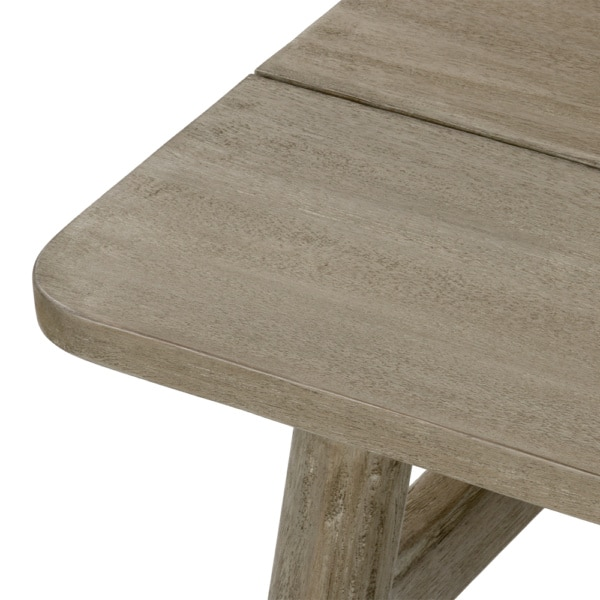 Sutherland Outdoor Teak Coffee Table Rectangle Closeup (1)