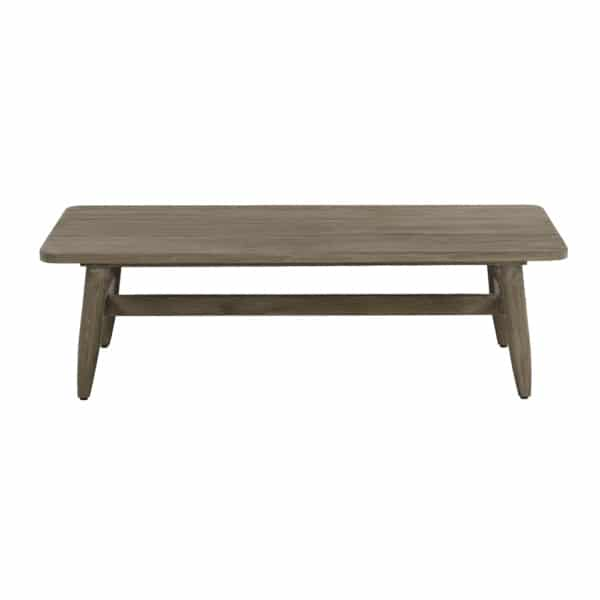 Sutherland Outdoor Teak Coffee Table Rectangle Side
