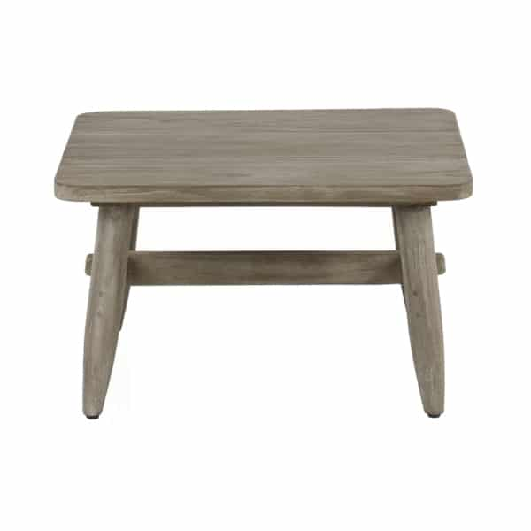Sutherland Outdoor Teak Side Table Square Side
