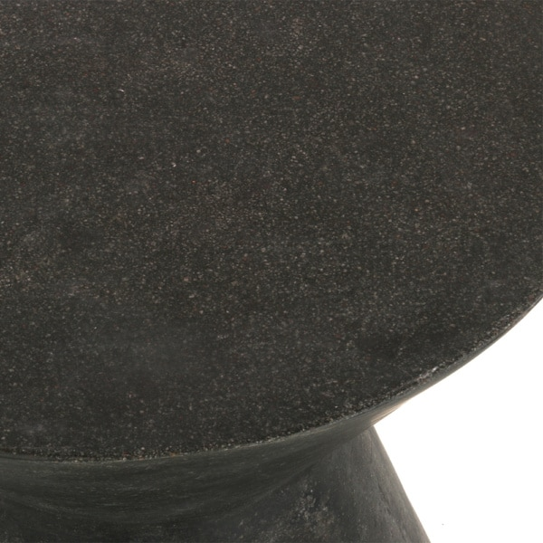 zinc-outdoor-stool-graphite-closeup-view