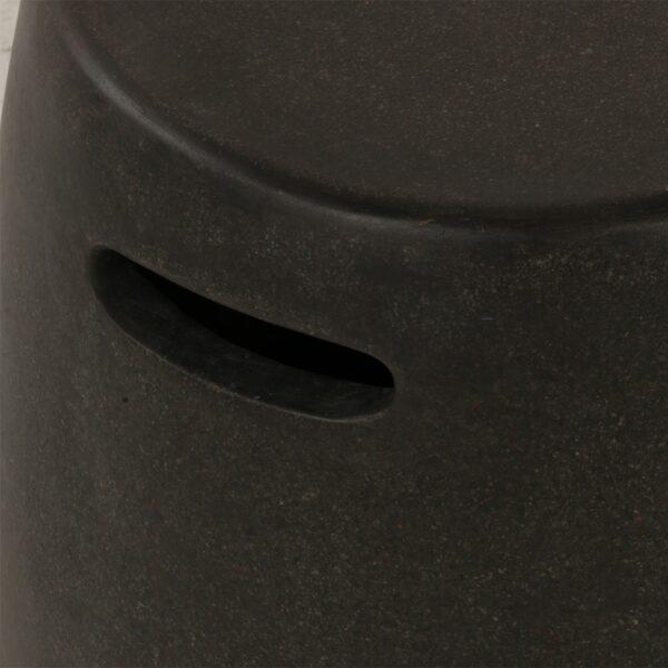 zoe-outdoor-fiberglass-stool-small-graphite-closeup