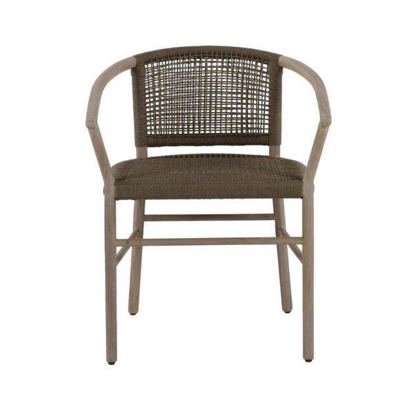 macintosh-outdoor-rope-teak-dining-armchair-front