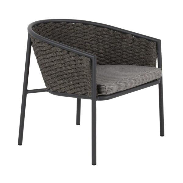 Pippa aluminum club chair