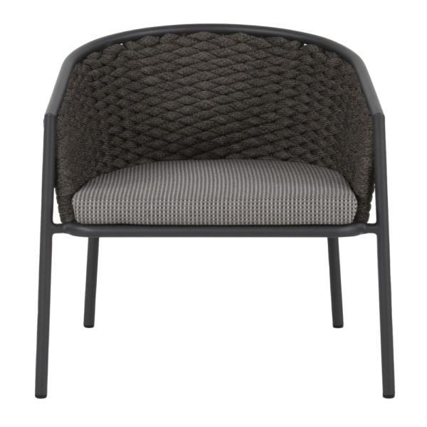 Rope and Aluminum Pippa Patio Chair