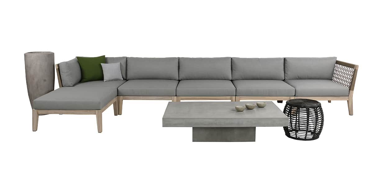 Scott Reclaimed Teak Sectional Collection