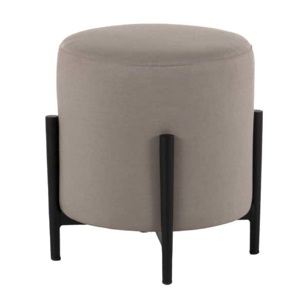 suzi outdoor stool in taupe