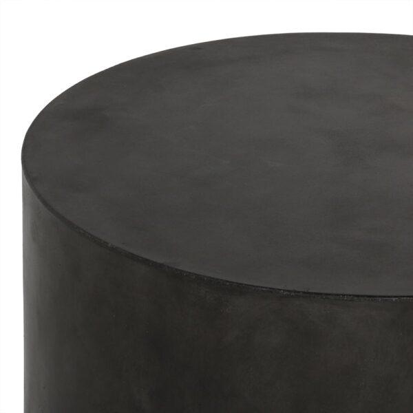 blok-concrete-round-side-table-black-closeup