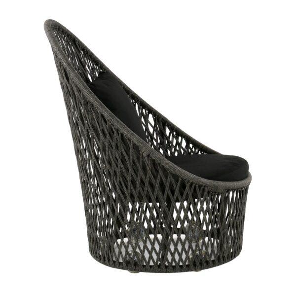sunai-open-broad-weave-relaxing-swivel-chair-canvas-black-side-view