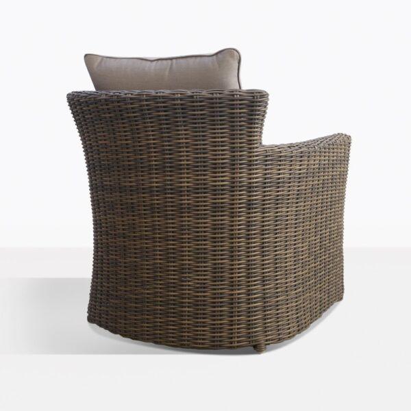 chopin relaxing chair back view