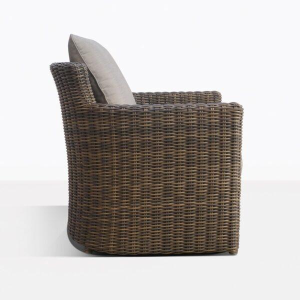 chopin relaxing chair side view